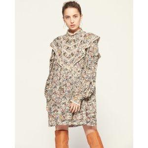 Isabel Marant Rebel Dress in Ecru